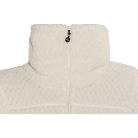 Meru W's Kaluga High Collar Waffle Teddy Fleece Jacket Marshmallow